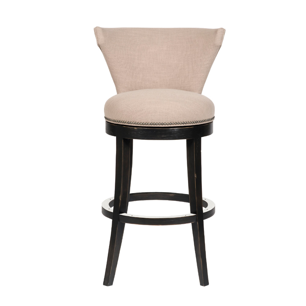 Vanguard Avery Swivel Bar Stool Custom Transitional Kitchen Seating