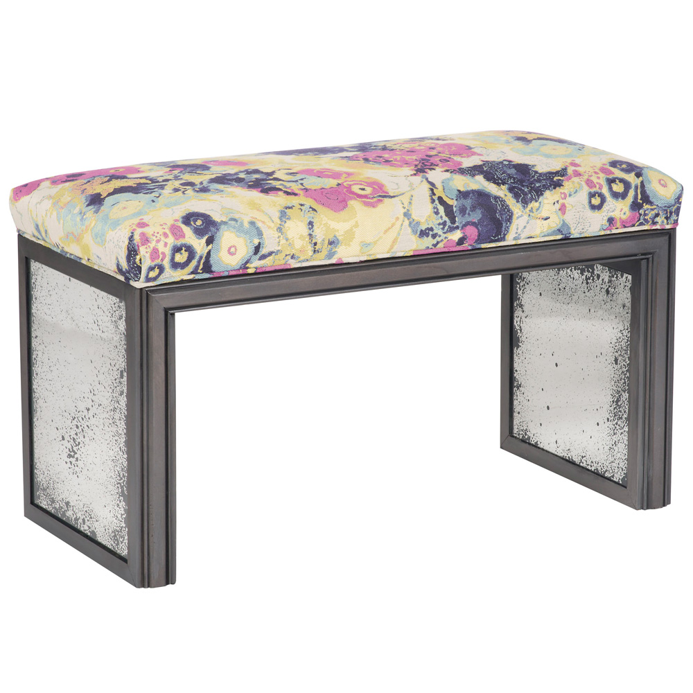 Vanguard Blair Mirror Bench Customizable Designer Accent Furnishings