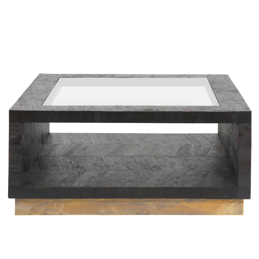Vanguard Furniture Chevron Sqaure Coffee Table Square