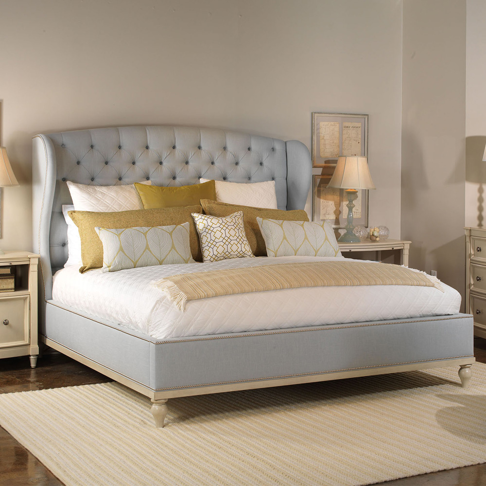 Vanguard Furniture Emma Bed Customizable Luxury Bedroom Furniture