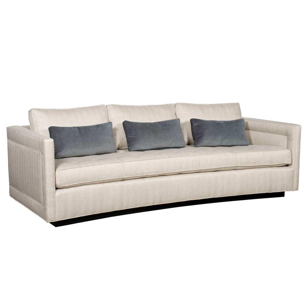 Vanguard Henderson Harbor Button Tufted Sofa Thom