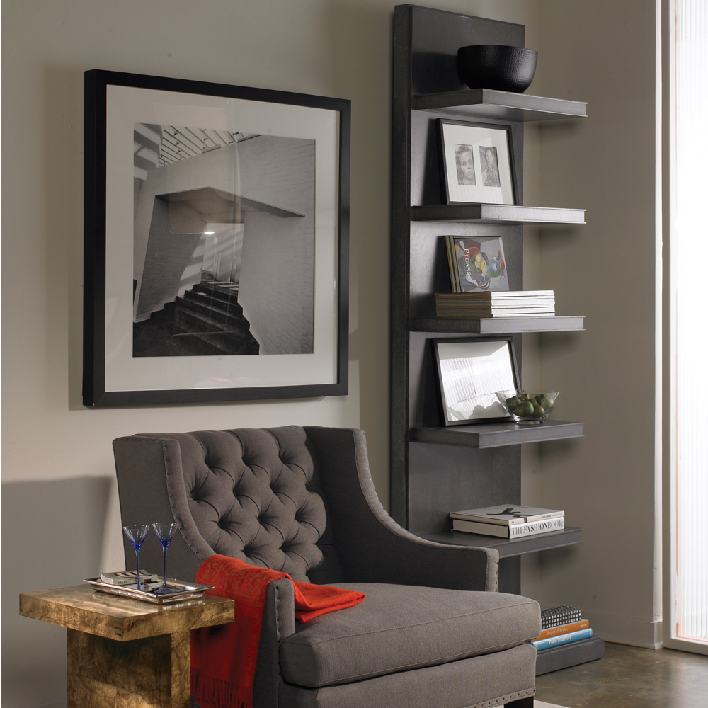 vanguard michael weiss bradshaw etagere custom transitional furniture. Black Bedroom Furniture Sets. Home Design Ideas