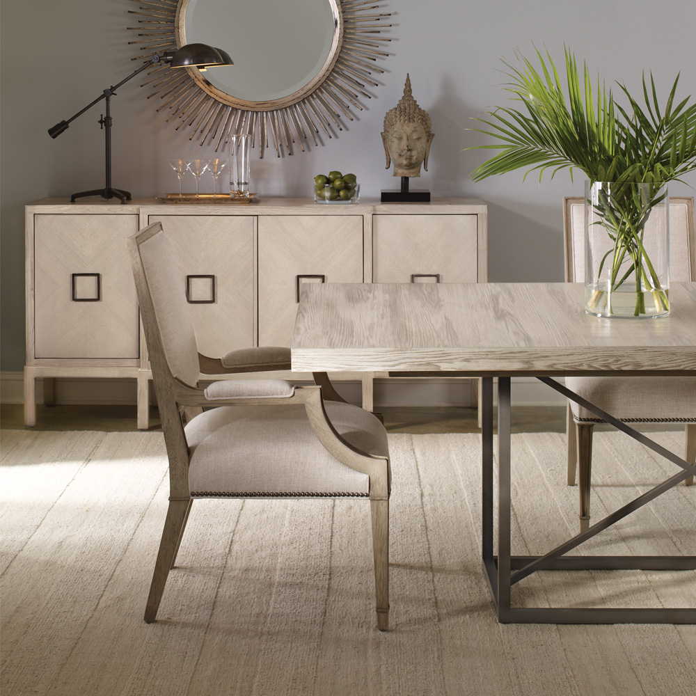 ... Vanguard Furniture Michael Weiss Burroughs Dining Table ...