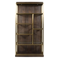 Vanguard Furniture Michael Weiss Lumnary Bookcase Left Facing