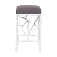 Vanguard Piers Metal Frame Counter Stool