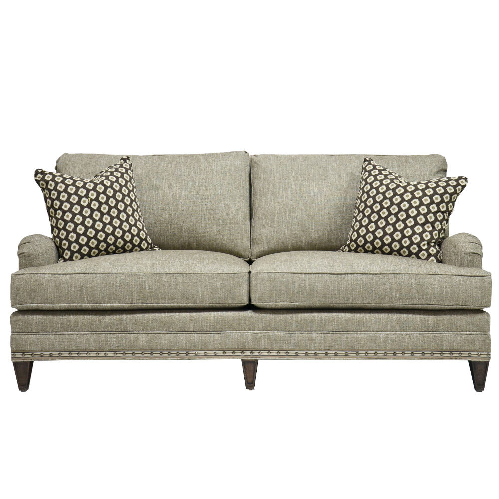 Vanguard Winslow Sofa Customizable Transitional Designer Furnishings ~ What Is A Transitional Sofa