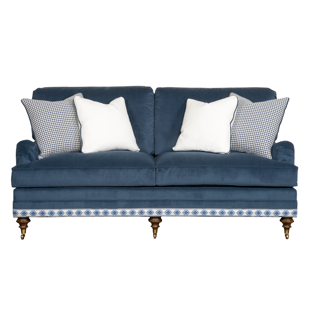 Vanguard Furniture Winslow Sofa Village Midnight