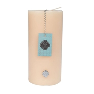 Votivo Icy Blue Pine Holiday Pillar votivo scented candles