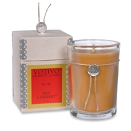 Votivo Candle - Red Currant Candle - Aromatic Scented Candle