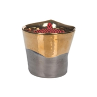Votivo Red Currant Collection Gold Dipped Votive Candle