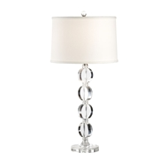 Wildwood Lighting Arden Lamp 22245 Solid Crystal