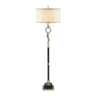 Wildwood Lighting Loop And Twist Floor Lamp 22290 Nickel