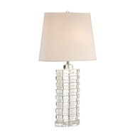 Wildwood Lighting Barnett Lamp 22291 Solid Crystal