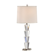 Wildwood Lighting Crystal Fountain Lamp 22292 Solid Crystal