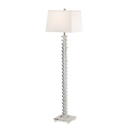 Wildwood Lighting Stacked Crystals Floor Lamp 22309 Solid Crystal