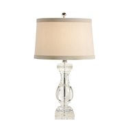 Wildwood Lighting Crystal Ballustre Lamp 22343 Solid Crystal