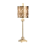 Wildwood Lighting Hutton Slim Lamp-Brass