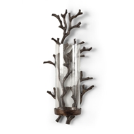 Wildwood Lighting Coral Sconce 292430 Cast Alloy With Bronze Patina
