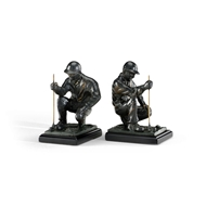 Wildwood Home Golfer Bookends (Pair) 293562 Hand Finished