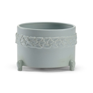 Wildwood Home Laurel Cachepot - Mint (Sm) 295565 Ceramic