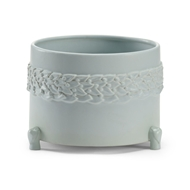 Wildwood Home Laurel Cachepot - Mint (Lg) 295566 Ceramic