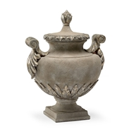 Wildwood Home Venetian Urn 296109 Faux Concrete Finish - Composite