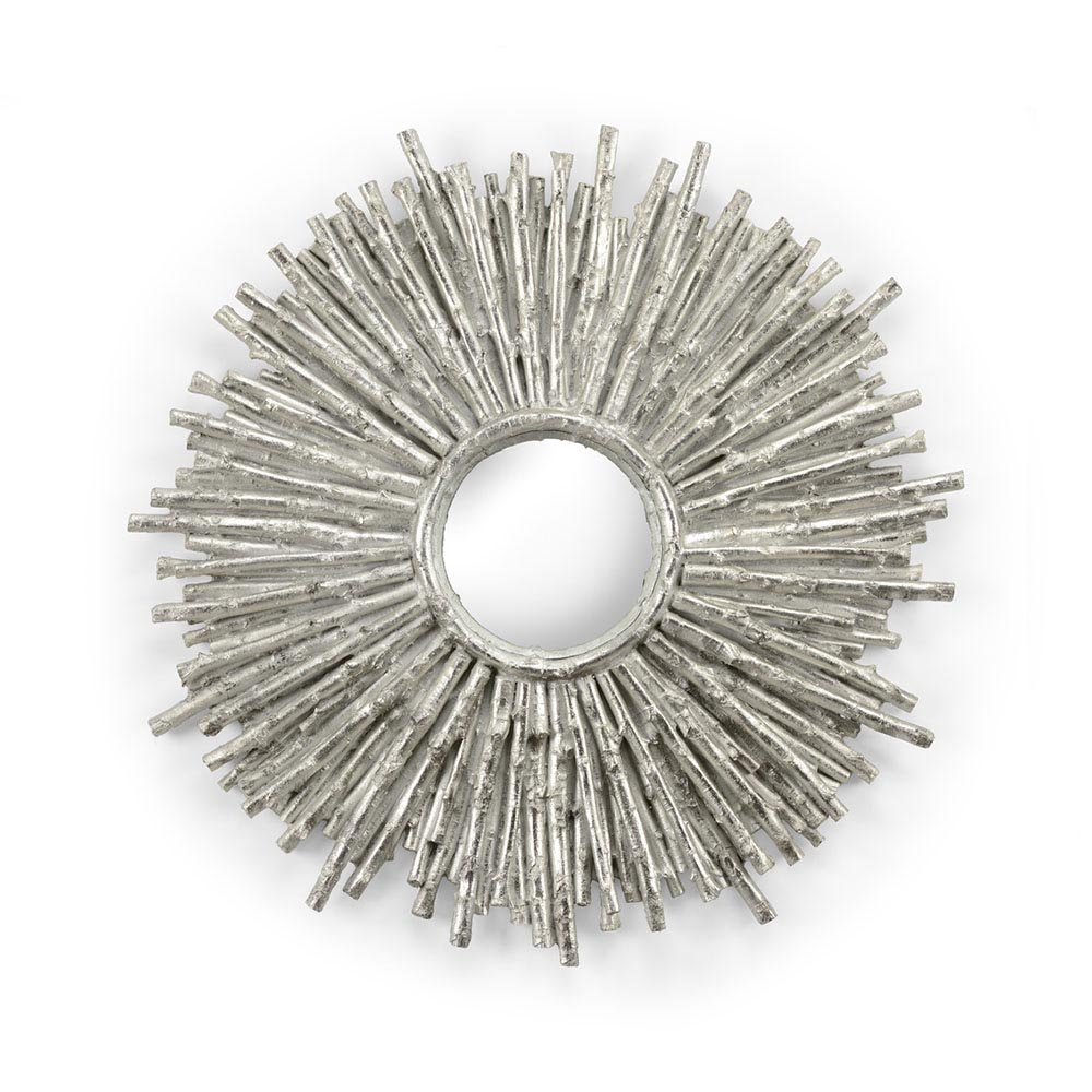 Wildwood Home Twiggy Mirror - Silver 296141 Composite