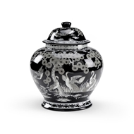 Wildwood Home Asian Pine Urn