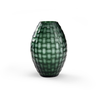 Wildwood Home Basket Weave Vase