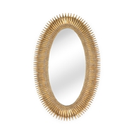 Wildwood Home Lucius Mirror - Gold 300852 Composite