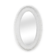 Wildwood Home Lucius Mirror - White 300853 Composite