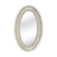 Wildwood Home Lucius Mirror - Silver 300854 Composite