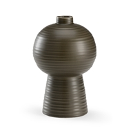 Wildwood Home Koota Vase (Sm) - Pepper