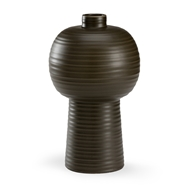 Wildwood Home Koota Vase- Pepper
