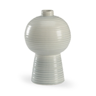 Wildwood Home Koota Vase (Sm) - Cloud