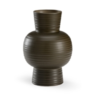 Wildwood Home Kiva Urn - Pepper