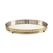 Wildwood Home Footed Vanity Tray 301014 Brass