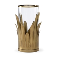 Wildwood Lighting Bull Rush Hurricane (Sm) 301027 Brass