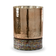 Wildwood Lighting Aztec Candle Hurricane