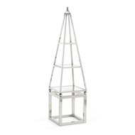 Wildwood Home Obie Shelf Unit - Nickel