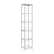 Wildwood Home Langdon Shelf Unit 301066 Metal