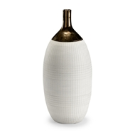 Wildwood Home Blanco Potters Vase
