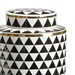 Wildwood Home Triad Canister Set - Black 301378