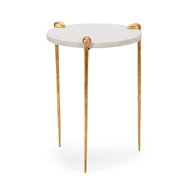 Wildwood Home Tate Side Table - Gold 490058 Iron
