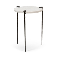 Wildwood Home Tate Side Table - Steel