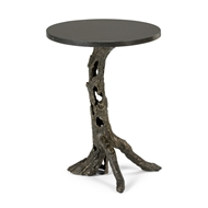 Wildwood Home Woody Side Table- Bronze 490060 Aluminum