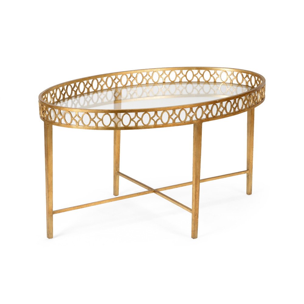 Wildwood Home Manor House Cocktail Table 490074 Iron