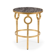Wildwood Home Hudson Side Table - Gold 490092 Iron