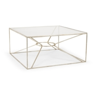 Wildwood Home Emery Cocktail Table - Silver