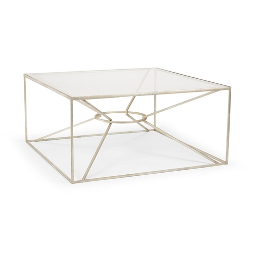Wildwood Home Emery Cocktail Table - Silver 490099 Iron